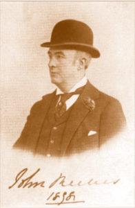 John Reeves 1898-ban, már alagi lakosként