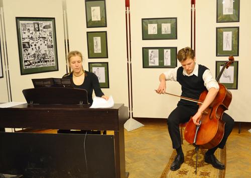 A két tehetséges művész, Rónaszéki Sára és Papp Henrik