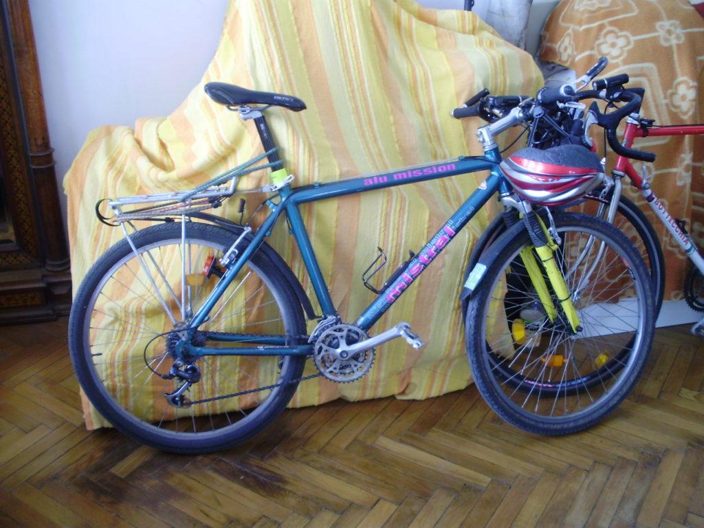 Ellopott kerékpár