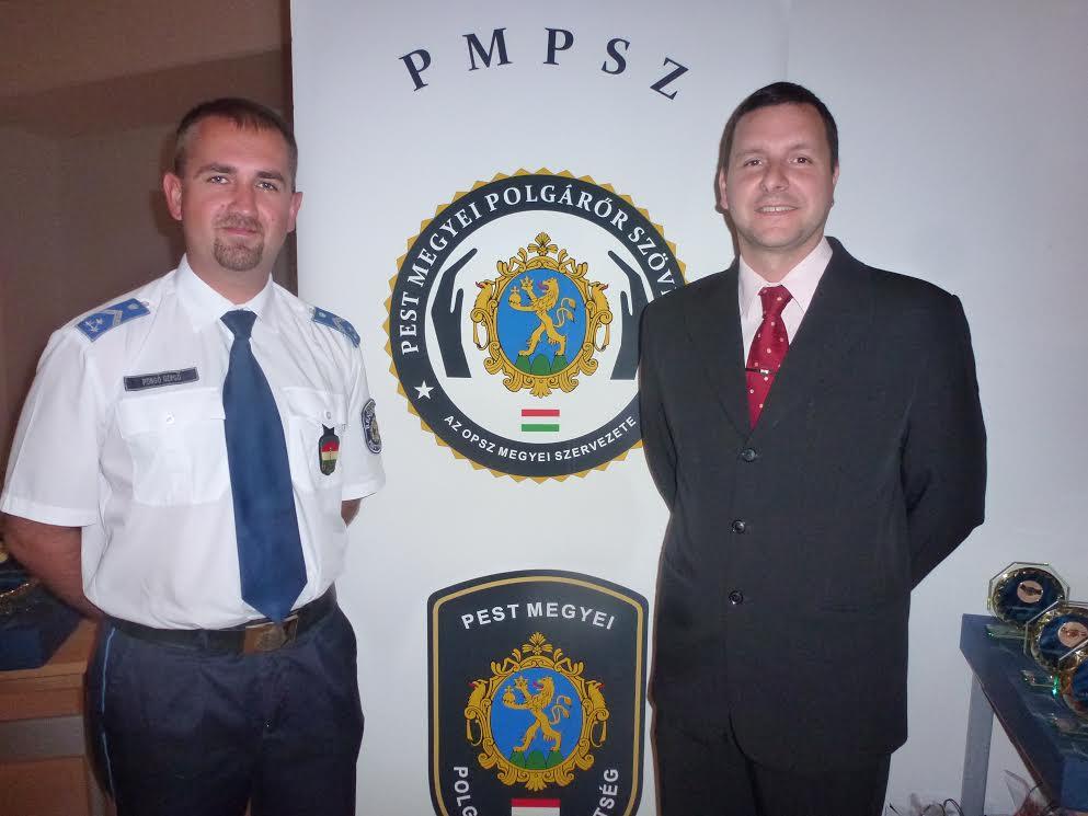 rendőr, kitüntetés