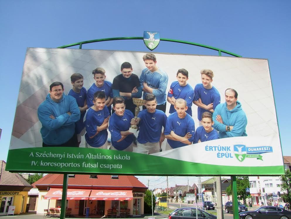 Futsal, sport, foci, plakát