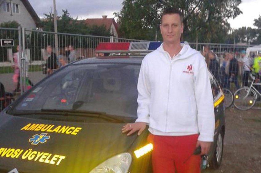Varga Zoltán Péter, orvosi ügyelet, kocsi és ő