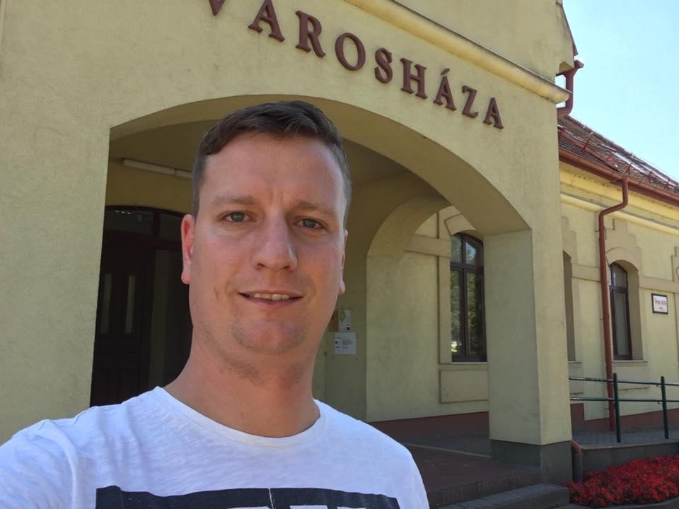 Varga Zoltán Péter, városháza