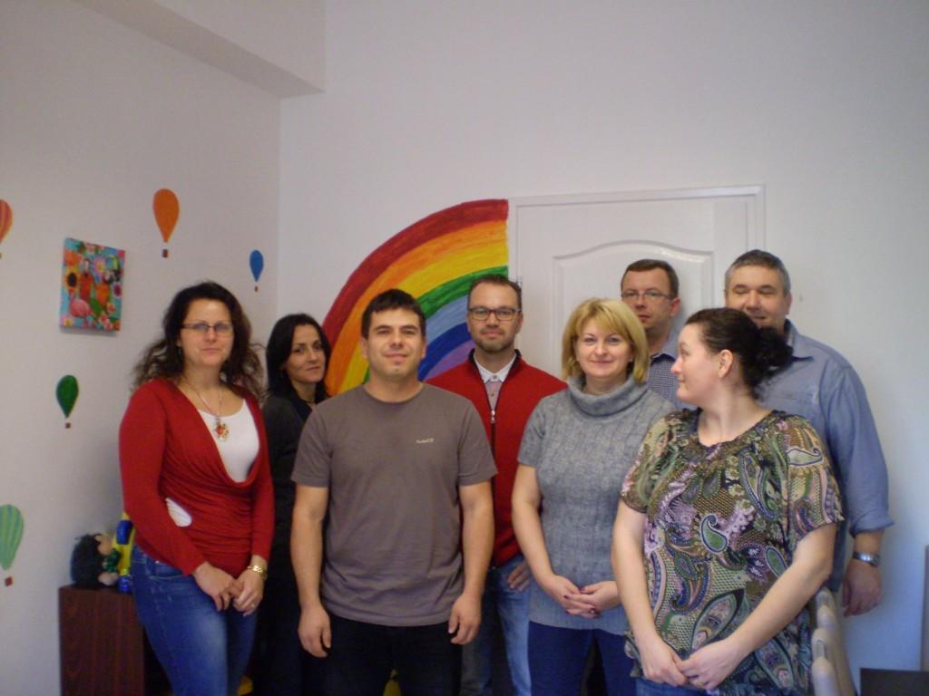 DÓHSZK Család- és Gyermekjóléti Központ csapata