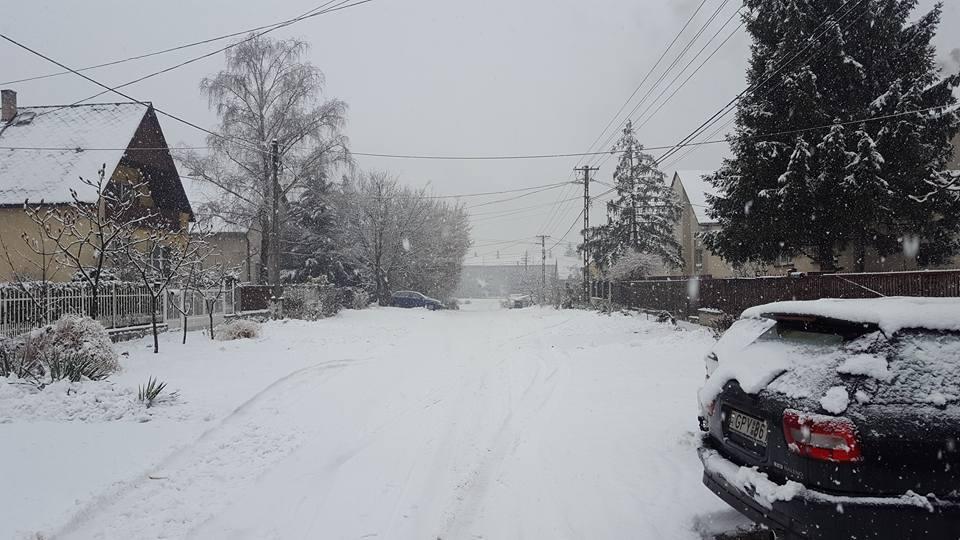 Hóhelyzet, Gárdonyi Géza utca