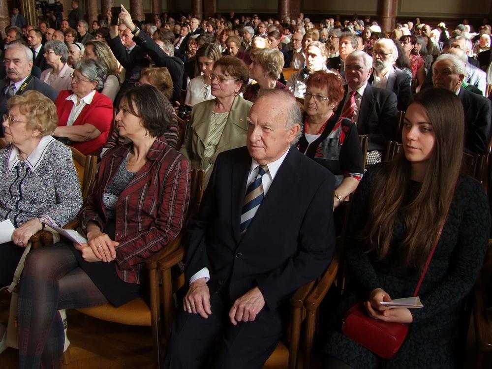 Sajdik Ferenc és unokája
